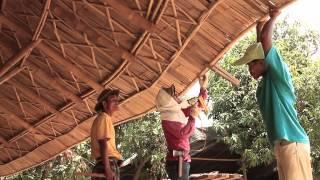 Creative unique bamboo & earth building design and construction