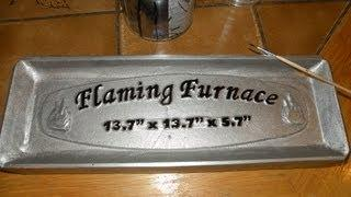 Aluminum foundry sand moulding flask