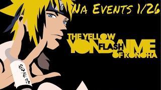 Naruto Online: NA Events 1/26/17 Minato Incoming Again