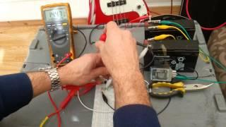 Tesla Switch 555 Timer. Relay switching test