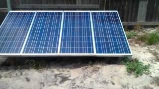 Solar powered window air conditioner