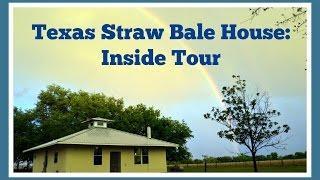 Texas Straw Bale House - Inside Tour