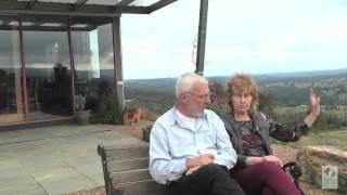 John and Sarah on rebuilding their home stronger and greener