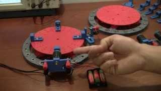 3D Printed Permanent Magnet Motor Adams Bedini type