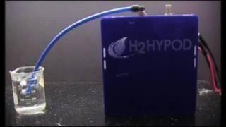 H2Hypod 7 inch Tech Demo ultra high efficient hydrogen technology HHO