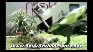 FREE Energy Solar Stirling Generator - Alternative Green Energy