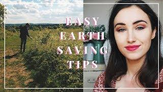 EARTH DAY 2018 | EASY EARTH SAVING TIPS.