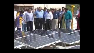 5 MW roof top Solar plants dedicated by Gujarat Minister in Gandhinagar