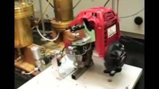 Honda GX25 Hydrogen Engine Using Hydrnol™