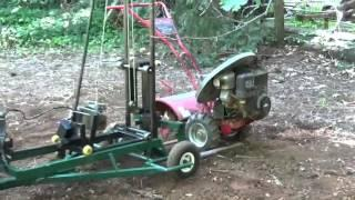 Versatile Electric tractor For farm or construction.